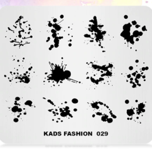 kads fashion пластина для стемпинга
