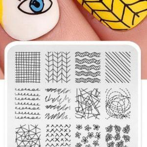 kads geometry пластина для стемпинга