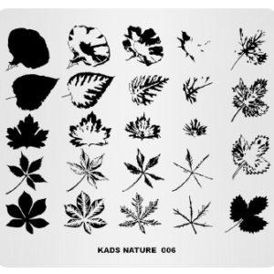 kads nature пластина для стемпинга