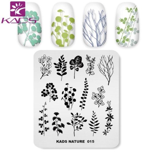 kads nature-015 пластина для стемпинга