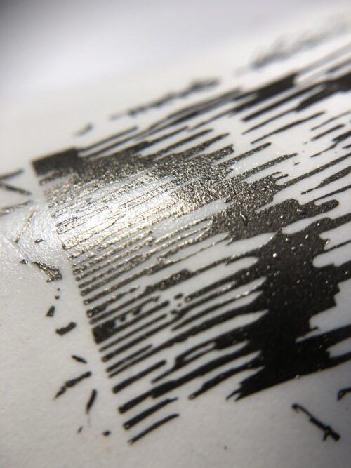 Vakula Nails Лак для стемпинга черный
