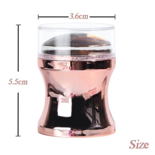 Штамп XL для стемпинга с прозрачной подушечкой