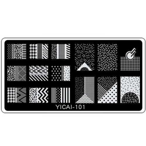 YICAI-101 пластина для стемпинга