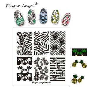 Finger Angel A051 пластина для стемпинга